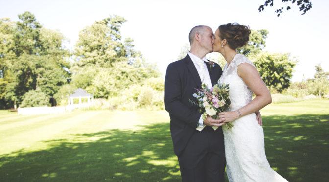 The wedding of Chris to Emma
