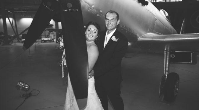 The wedding of Simon to Jessica